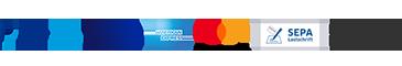 Paypal, Kreditkarte, Rechnungskauf, SEPA Lastschrift
