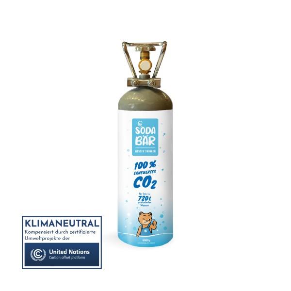 CO2-Kohlensäure-Flasche 6000g (6kg)
