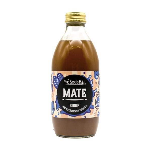 Natural Mate-Sirup Getränkesirup