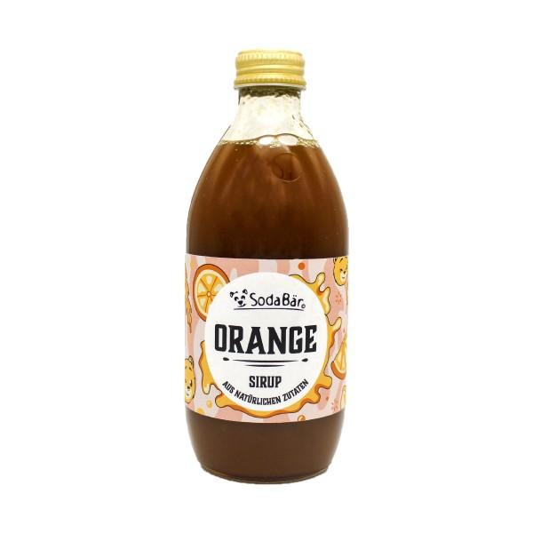 Natural Orange-Sirup