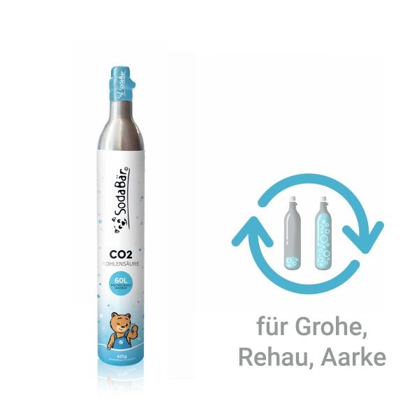 CO2-Tauschzylinder für GROHE, Re.Source, Aarke 425g (60 l)