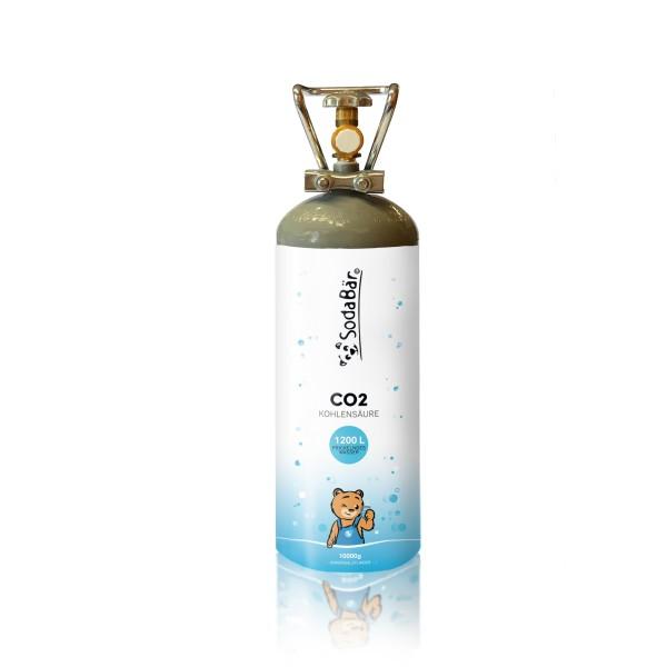 CO2-Kohlensäure-Flasche 10000g (10 kg)