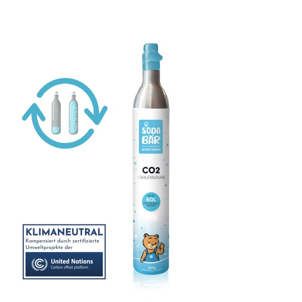 CO2-Tauschzylinder für SodaStream 425g (60 l)